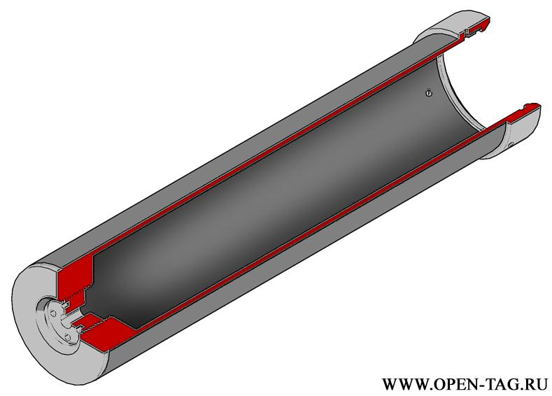 Схема излучателя для лазертага